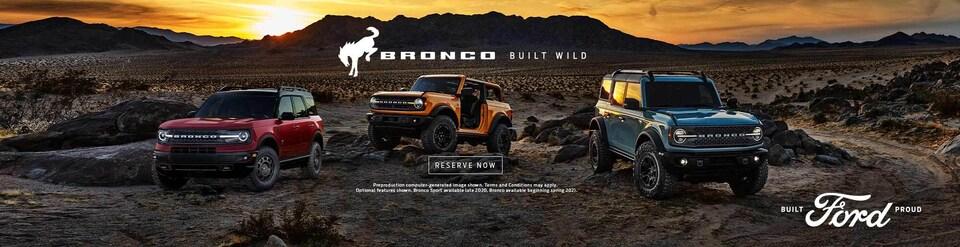 2021 Bronco Reserve Now!
