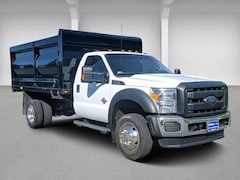2016 Ford Super Duty F-550 DRW 4WD Reg Cab 165 WB 84 CA XL Regular Cab Chassis-Cab