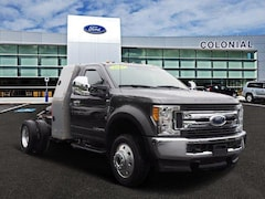 2017 Ford Super Duty F-450 DRW Regularcab XLT L Pack 4WD With Nav Regular Cab Chassis-Cab