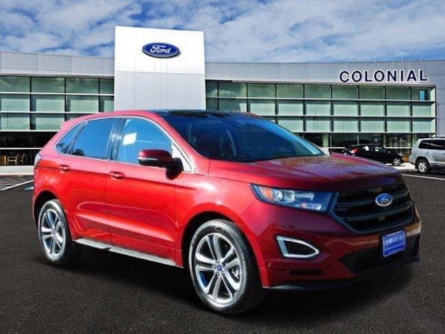 2016 Ford Edge Sport All Wheel Drive With Nav Sport Utility