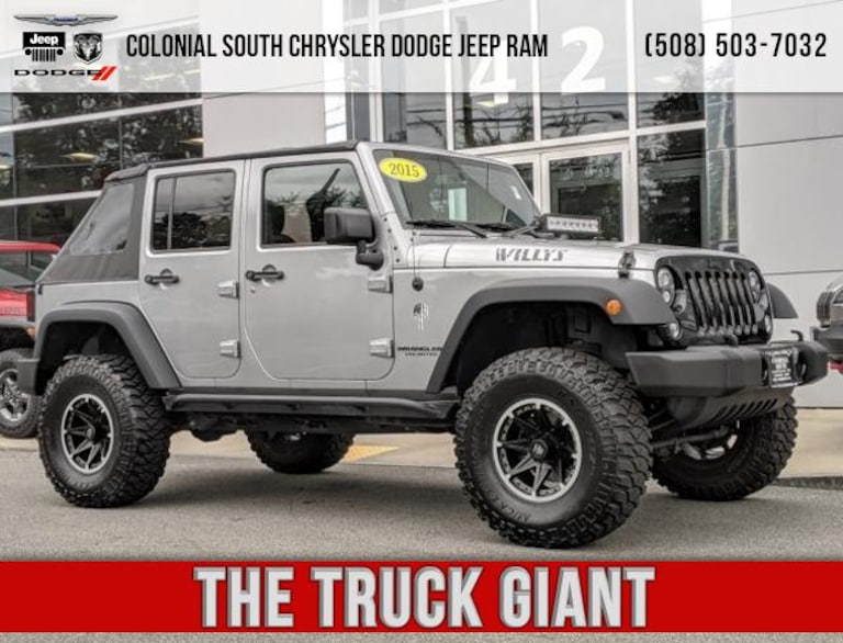 Used 2015 Jeep Wrangler Unlimited Sport 4x4 For Sale