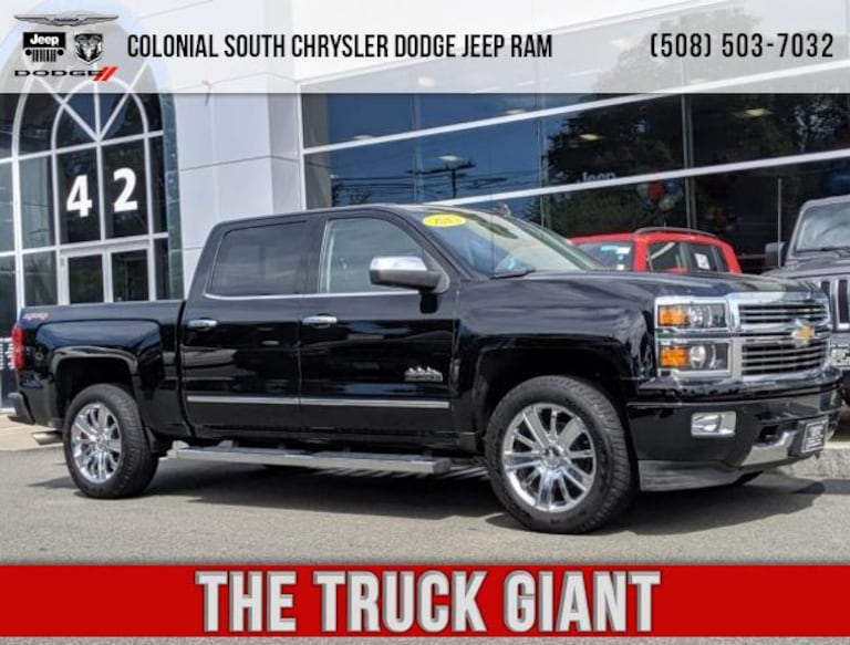 Used 2015 Chevrolet Silverado 1500 High Country For Sale