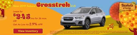 Crosstrek Lease | September 2019
