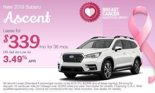 Subaru Lease Finance Specials Kingston New Subaru Deals