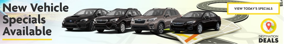 New Vehicle Specials Available