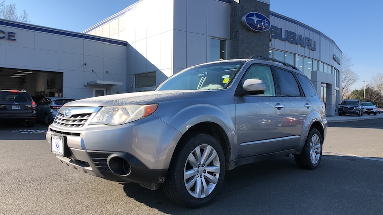 Used 2011 Subaru Forester 2.5X 4WD Sport Utility Vehicles in Danbury CT