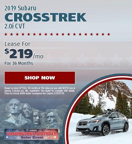 2019 Crosstrek Lease
