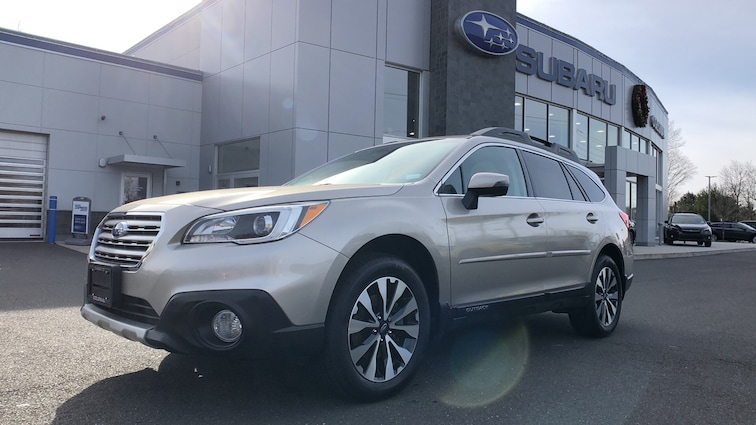 Certified  Used  2017 Subaru Outback 2.5i 4WD Sport Utility Vehicles in Danbury CT