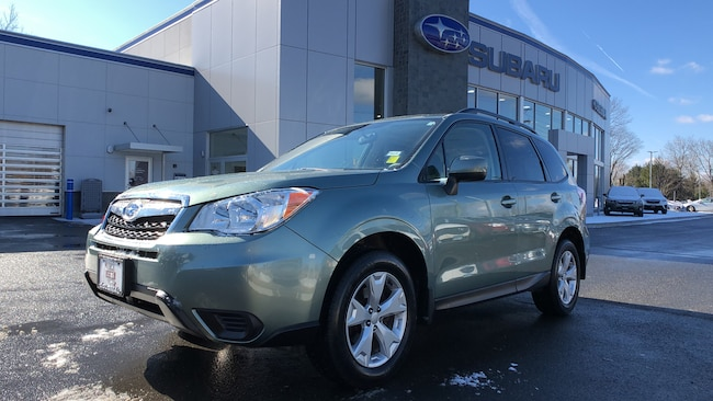 Certified  Used  2016 Subaru Forester 2.5i Premium 4WD Sport Utility Vehicles in Danbury CT