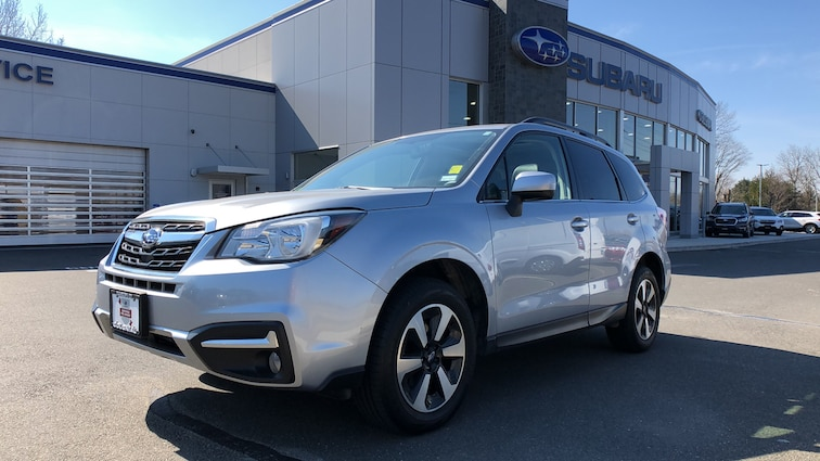 Certified  Used  2017 Subaru Forester 2.5i Limited 4WD Sport Utility Vehicles in Danbury CT