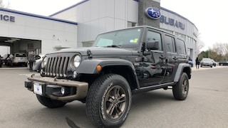 Used 2016 Jeep Wrangler Unlimited Sahara 4WD Sport Utility Vehicles in Danbury, CT