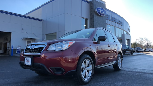 Used 2016 Subaru Forester 2.5i 4WD Sport Utility Vehicles in Danbury CT