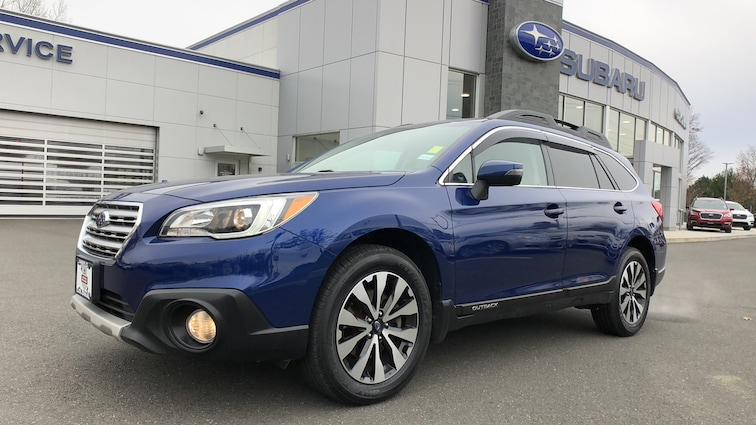 Certified  Used  2016 Subaru Outback 2.5i 4WD Sport Utility Vehicles in Danbury CT
