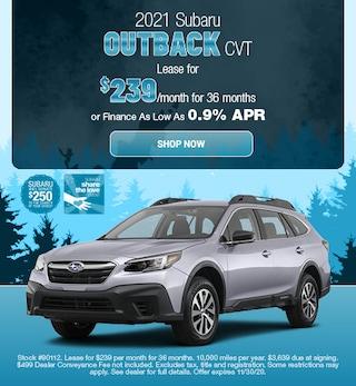 2021 Subaru Outback CVT