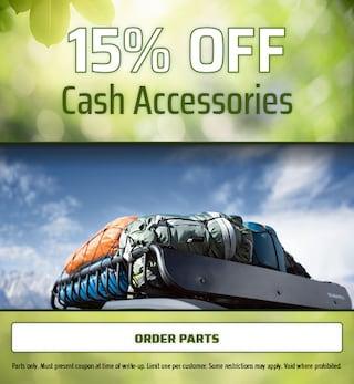 15% OFF Cash Accessories