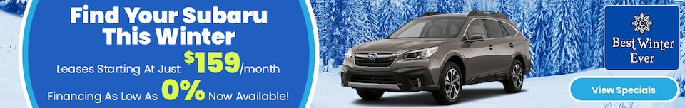 Find Your Subaru This Winter