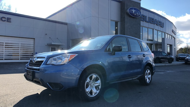 Certified  Used  2015 Subaru Forester 2.5i 4WD Sport Utility Vehicles in Danbury CT