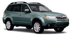 2011 Subaru Forester 2.5X 4WD Sport Utility Vehicles