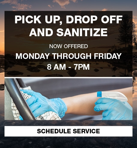 Pick Up, Drop Off and Sanitize