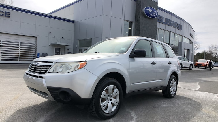 Used 2010 Subaru Forester 2.5X 4WD Sport Utility Vehicles in Danbury CT