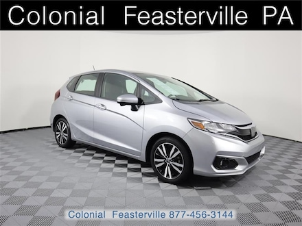 Featured Used 2018 Honda Fit EX Hatchback for Sale near Philadelphia