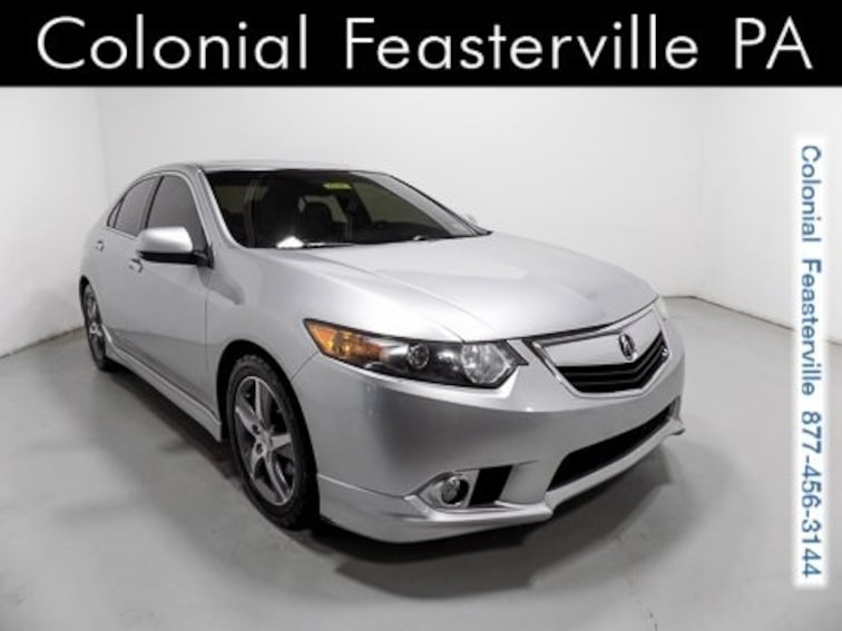 Used 2012 Acura TSX TSX Special Edition 6-speed Manual Sedan Feasterville, PA