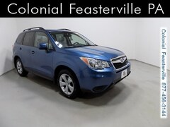 Certified Pre-Owned 2015 Subaru Forester 2.5i Premium (CVT) SUV for sale in Feasterville, PA