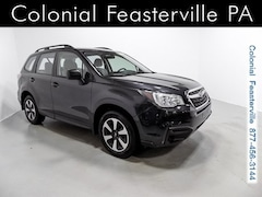 Used 2018 Subaru Forester 2.5i SUV JF2SJABC9JH490509 for Sale in Feasterville, PA