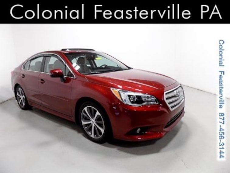 Certified 2017 Subaru Legacy 3.6R Limited with Sedan Feasterville, PA