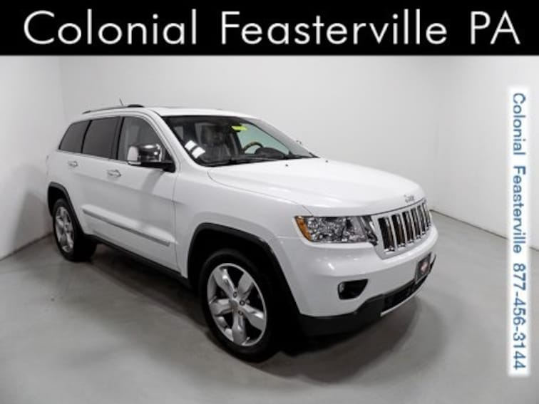 Used 2013 Jeep Grand Cherokee Overland SUV Feasterville, PA