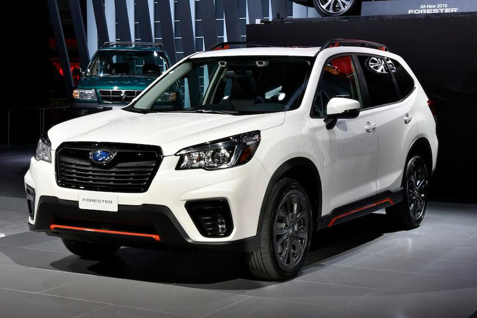 Subaru Forester Facial Recognition
