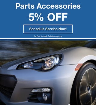 5% off part accessories