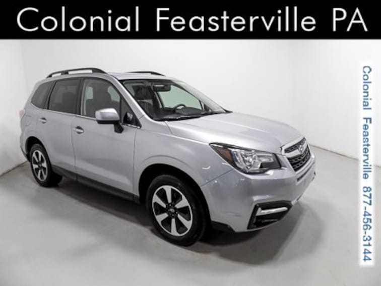 Certified 2017 Subaru Forester 2.5i Limited SUV Feasterville, PA