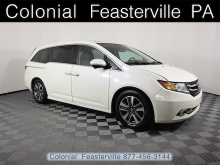 Featured Used 2015 Honda Odyssey Touring Van for Sale near Philadelphia