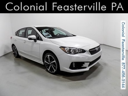 Featured New 2020 Subaru Impreza Sport 5-door for Sale in Feasterville, PA