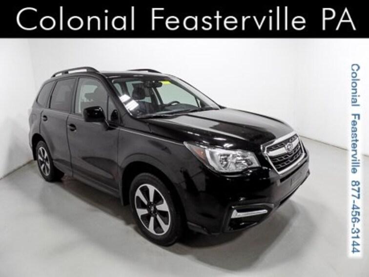 Certified 2018 Subaru Forester 2.5i Premium SUV Feasterville, PA