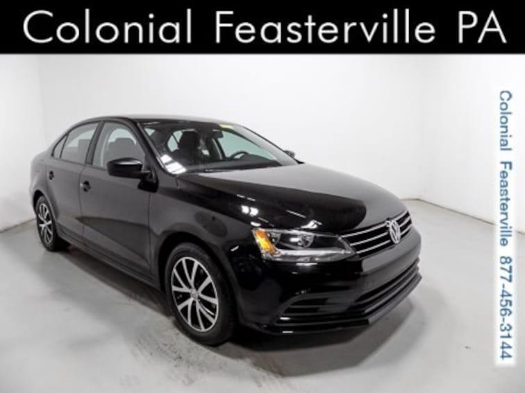 Certified 2016 Volkswagen Jetta 1.4T SE Automatic Sedan Feasterville, PA
