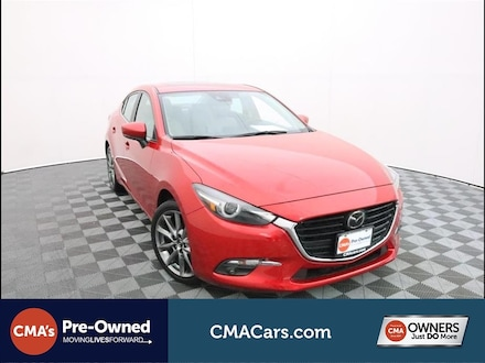 Featured Used 2018 Mazda Mazda3 Grand Touring Sedan for Sale in South Chesterfield, VA