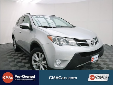Featured Used 2014 Toyota RAV4 Limited SUV for Sale in South Chesterfield, VA