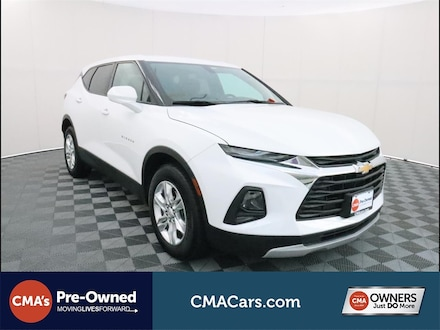 Featured Used 2019 Chevrolet Blazer Base w/2LT SUV for Sale in South Chesterfield, VA