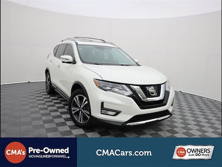 Featured Used 2017 Nissan Rogue SL SUV for Sale in South Chesterfield, VA