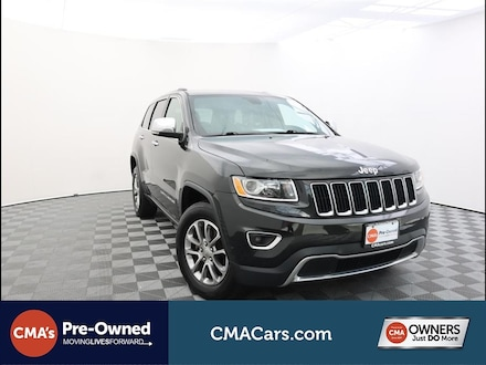 Featured Used 2016 Jeep Grand Cherokee Limited 4x4 SUV for Sale in South Chesterfield, VA