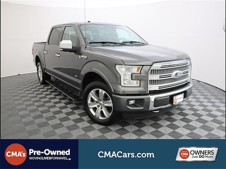 Featured Used 2016 Ford F-150 Truck SuperCrew Cab for Sale in South Chesterfield, VA