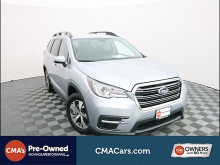 Featured Used 2021 Subaru Ascent Premium 8-Passenger SUV for Sale in South Chesterfield, VA