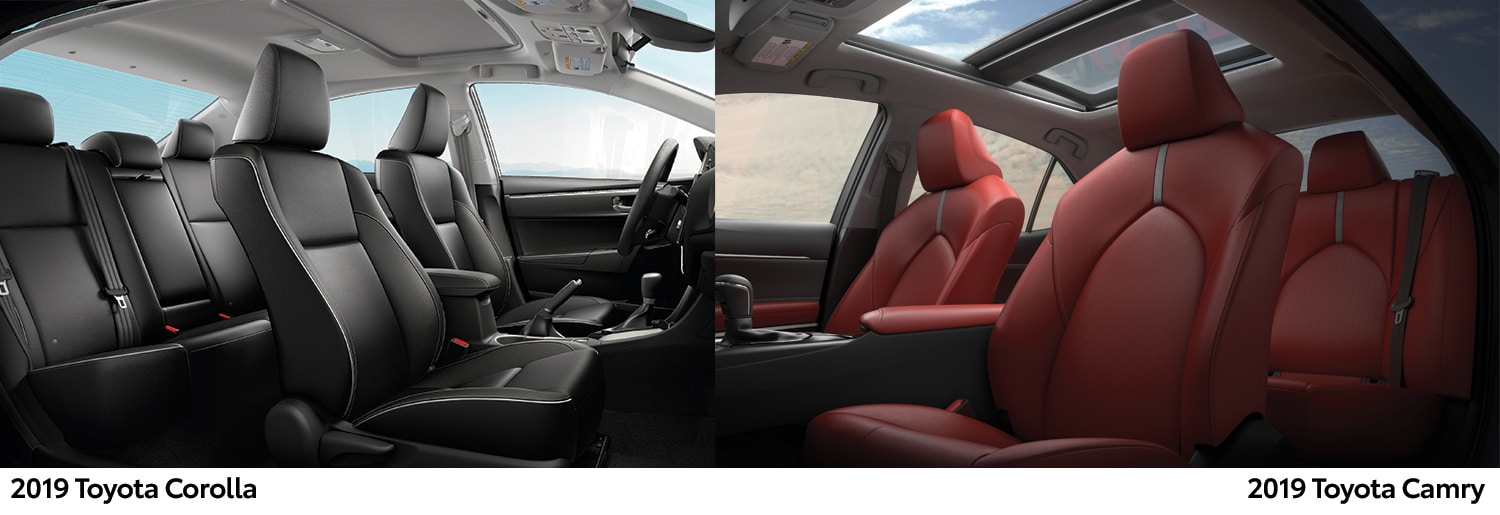 2019 Toyota Corolla And 2019 Toyota Camry Features And Benefits