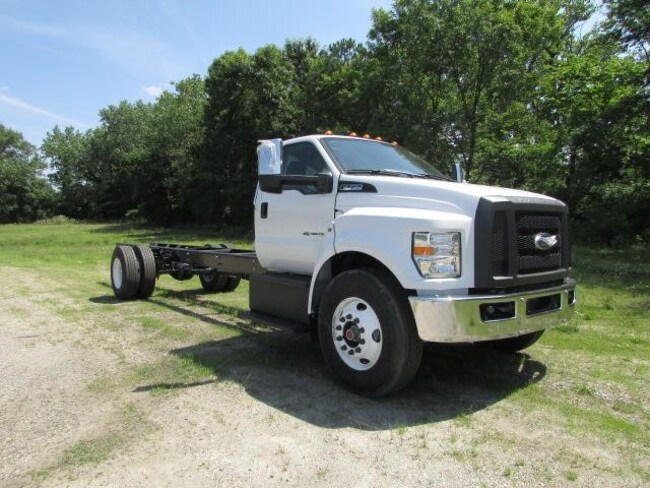 2018 Ford F-750 SD Diesel Straight Frame Cab and Chassis