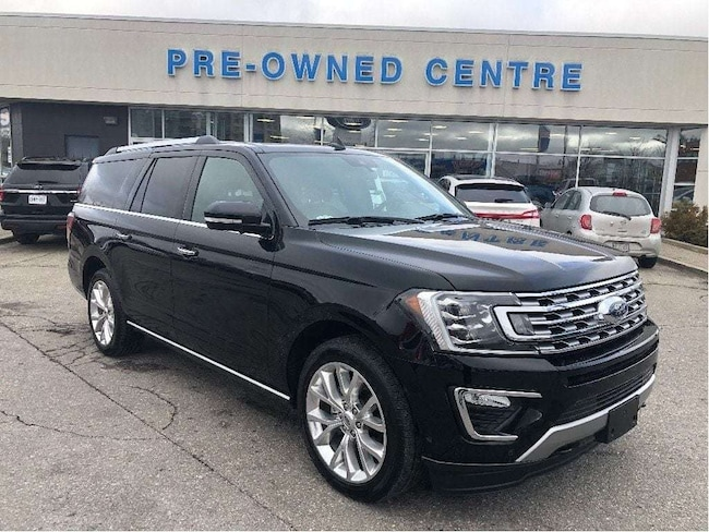 Certified Used 2018 Ford Expedition Max Limited | CPO | Daily Rental | 2.9% 24 Months! SUV in Brampton