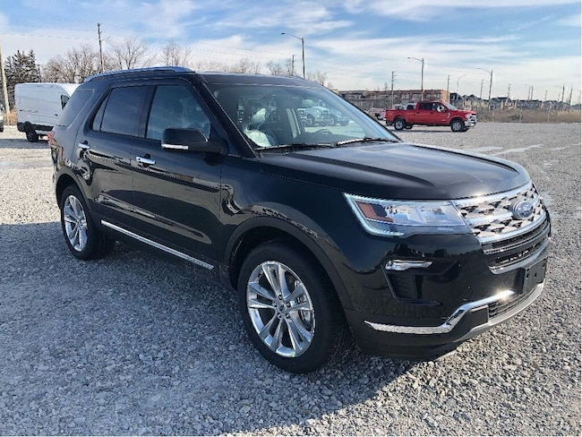 New 2019 Ford Explorer LIMITED 300A SUV near Toronto