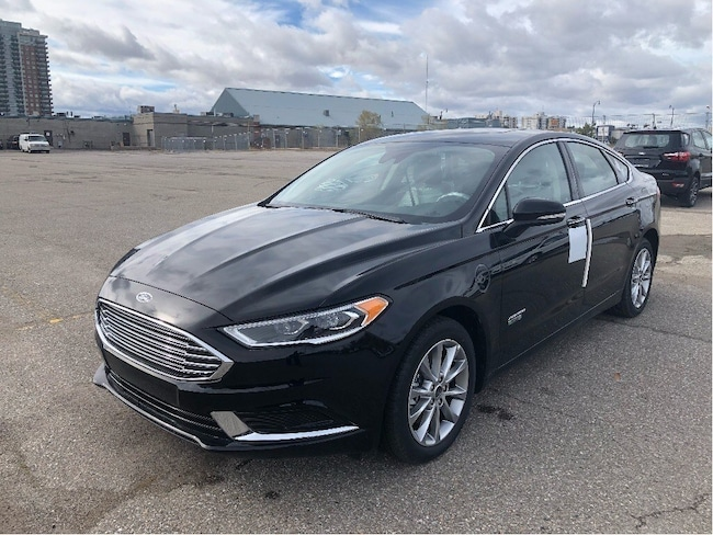 New 2018 Ford Fusion Energi SE LUXURY 800A | IT'S EASY AT COLONY FORD!! Sedan near Toronto