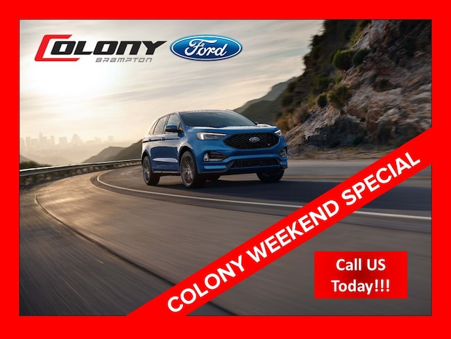 New 2019 Ford Edge SEL 201A | SATURDAY - WEEKEND SPECIAL SUV near Toronto